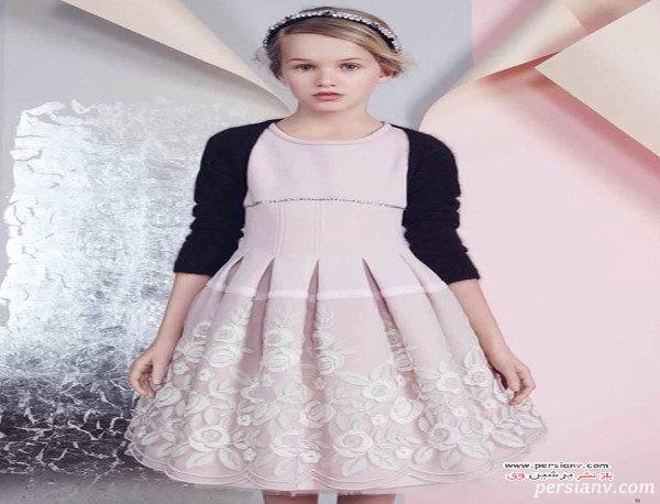 مدل لباس های دخترانه برند مونالیزا در مهمانی های زمستان +عکس