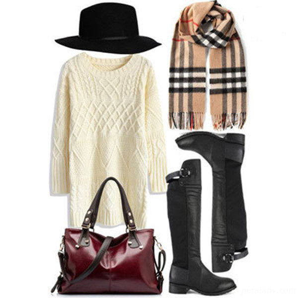 ست لباس مجلسی برای زمستان | خوش پوش ها حتما ببینند+تصاویر