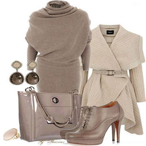 ست لباس مجلسی زمستانی