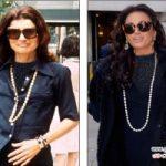 مدل لباس زنان مشهور و شباهت عجیب به پوشاک همسر رئیس جمهور سابق! +عکس