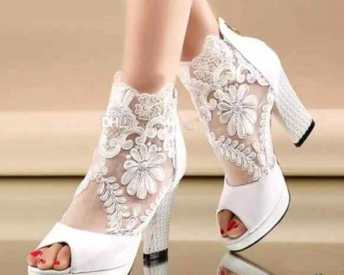 انتخاب کفش عروسی