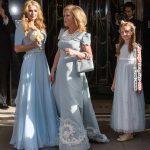 پاریس هیلتون در لباس ساقدوشی در عروسی خواهرش +عکس