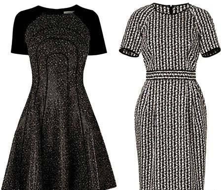 لباس های شیک ویژه خانم های چارشانه و بلند قد / در مهمانی ها بی نظیر باشید +تصاویر