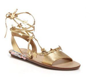 مدل کفش های پاشنه تخت با همان تاثیر شیک و مجلسی کفش های پاشنه دار +عکس