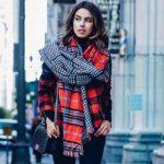 جدیدترین مدل های شال گردن ۲۰۱۷ برای شیک پوشی در پاییز / در پاییز خاص ترین باشید +تصاویر