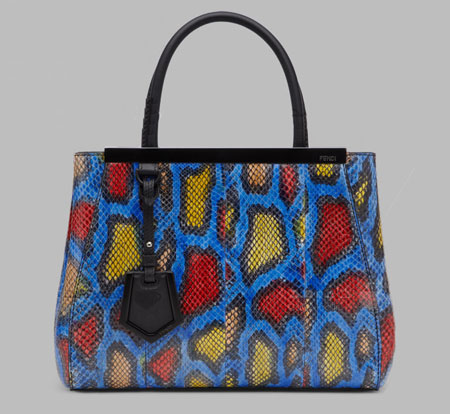 مدل هایی از کیف های زنانه جدید برند Fendi + تصاویر