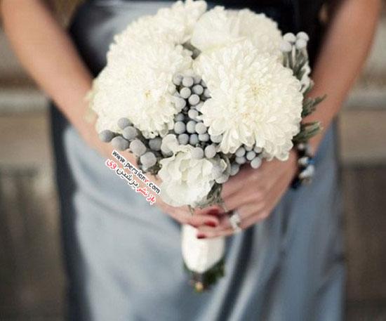 دسته گل های عروس