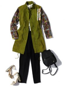 ست کردن لباس های طرح دار باهم با چند راه کار پیشنهادی +عکس