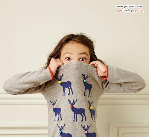 دخترکوچولوی مشهور مدل زمستانی برند Mini Boden +عکس