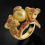 شیک ترین و متفاوت ترین مدل های انگشتر طلا با شکل حیوانات+تصاویر بسیار زیبا