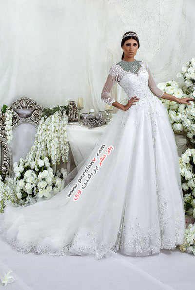 مدل لباس عروس های چشمگیر برند عربی دارسارا +عکس(۱)