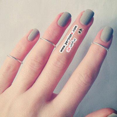 جدیدترین سبک انگشتر و حلقه بانوان در دنیای مد +عکس
