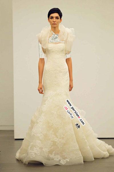 مدل لباس عروس های Vera Wang مجموعه پاییز۲۰۱۳ +عکس