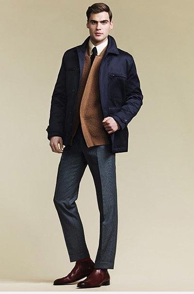 انواع مدل های جدید لباس مردانه Dunhill + تصاویر