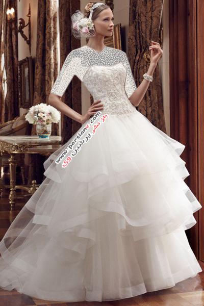 مدل لباس عروس های کازابلانکا برای بهار ۲۰۱۵ +عکس
