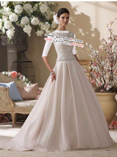 مدل لباس عروس های بسیار زیبای David Tutera +عکس