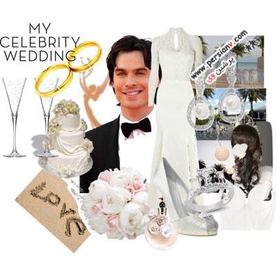 ست های عروس با داماد های رویایی! +عکس