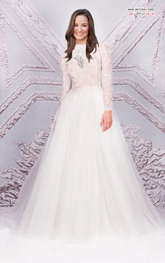 لباس عروس انتخابی پیپا میدلتون شاید یکی از این لباس ها باشد! +عکس
