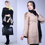 شیک ترین و جدیدترین مدل مانتوهای الناز حبیبی بازیگر محبوب کشورمان+تصاویر