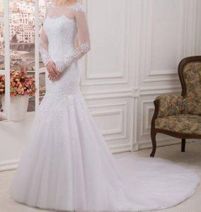 جدیدترین مدل های لباس عروس آستین دار ۲۰۱۷