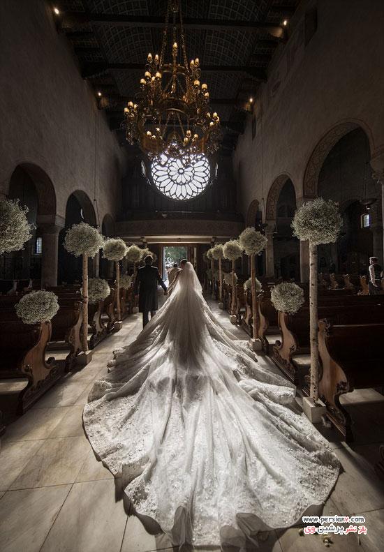 لباس عروس تماشایی