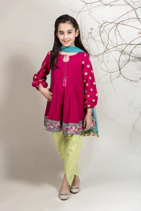 جدیدترین لباس های مجلسی پاکستانی دخترانه 2017