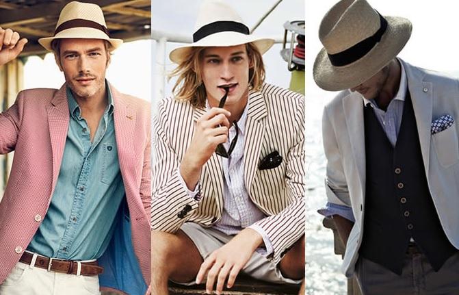 کلاه مردانه در تابستان