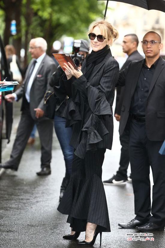 تیپ های سلین دیان در پاریس