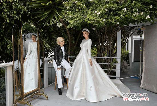 لباس عروس میراندا کر