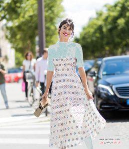 پیراهن های تور و گیپور تابستانی به سبک دختر فرانسوی!