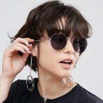 عینک خلاقانه و زیبایی که تبدیل به گوشواره میشود