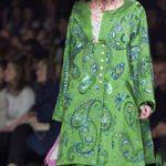 کلکسیون لباس دیور Dior با طرح بته جقه ای