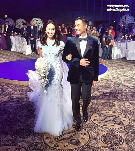 لباس عروس دختر سنگاپوری
