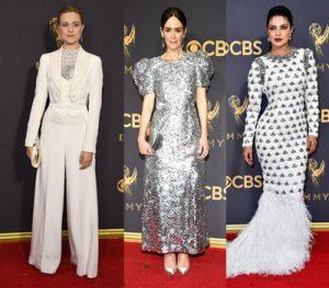 تیپ ستاره ها در فرش قرمز مراسم اهدای جوایز امی 2017