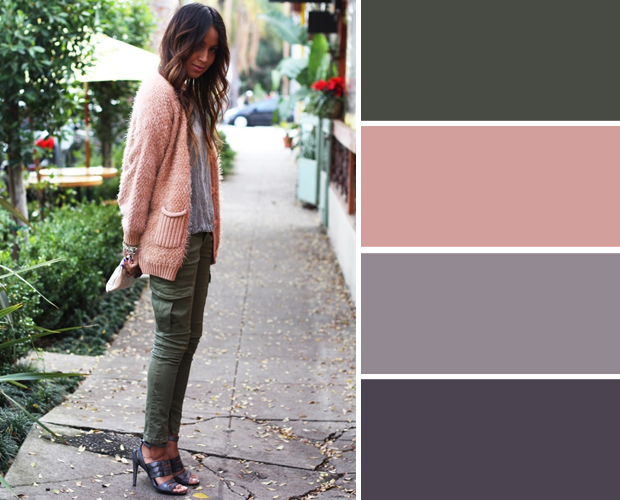 ترکیب رنگ لباس های پاییزی