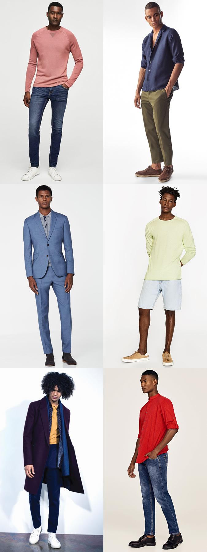 انتخاب لباس مناسب رنگ پوست