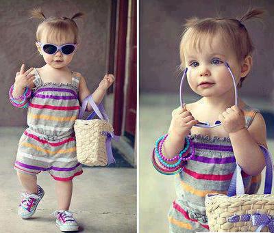 خوشتیپ بودن را به کودکتان بیاموزید !