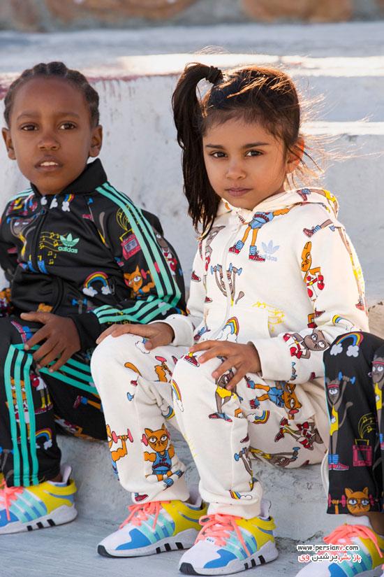 کالکشن لباس بچه گانه آدیداس در پاییز و زمستان 2017