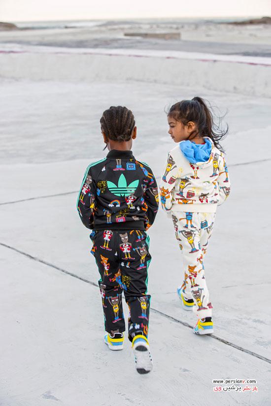 لباس بچه گانه آدیداس در پاییز 2017