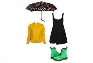 نکته هایی طلایی برای شیک پوشی در روزهای بارانی