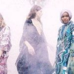 دختر آمریکایی مدل باحجاب در فشن شوهای بین المللی