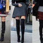 آموزش ست کردن چکمه و لباس زنانه در زمستان