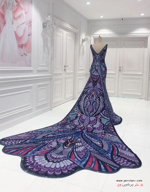 لباس پروانه ای آیشواریا رای
