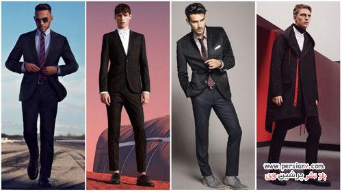 ست کردن رنگ لباس مردانه