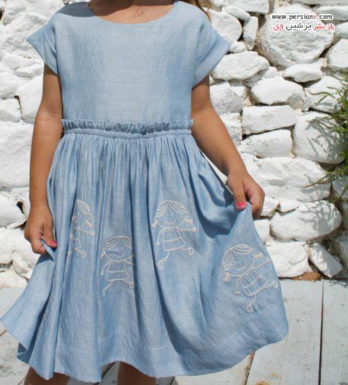 لباس دخترانه تابستانی