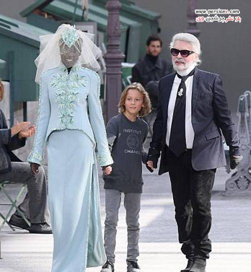 دختر جانی دپ در فشن شو شنل
