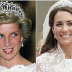 گرانبهاترین تاج های سلطنتی انگلستان بر سر ملکه الیزابت و عروس هایش