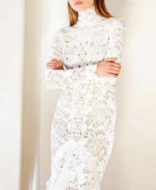 مدل های زیبا و شیک لباس عروس گیپور