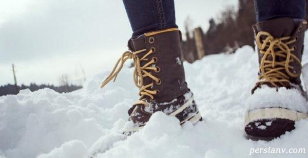 بهترین کفش برای برف نوردی