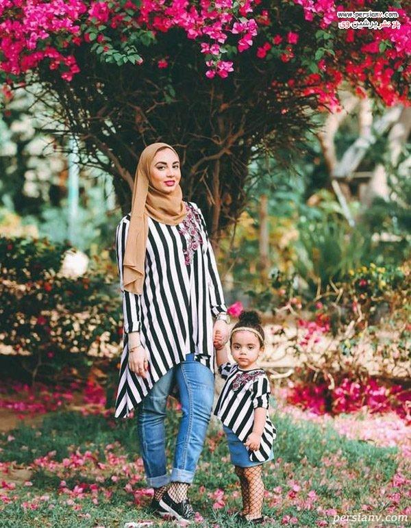 ست مادر و دختر اسپرت